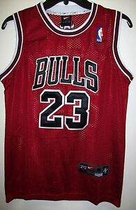 best service 163b6 9aab2 Details about YOUTH Chicago BULLS #23 JORDAN Jersey RED, WHITE or BLACK S,  M, L, XL YOUTH