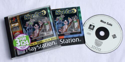 1 of 1 - Nice Cats (Sony PlayStation 1, 2000) - 8713399004789