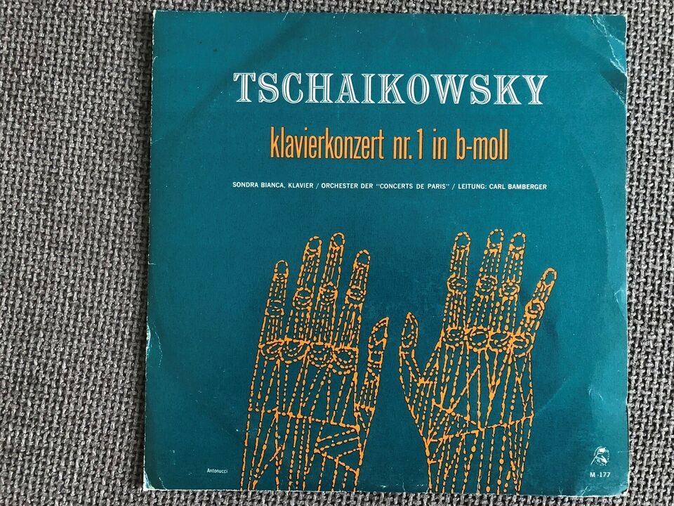 LP, Tschaikowsky, Klavierkonzert Nr. 1 In B-moll