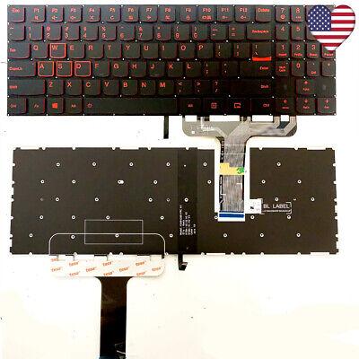Original Lenovo Legion Y520-15IKBA Y520-15IKBM Y520-15IKBN US Keyboard w backlit