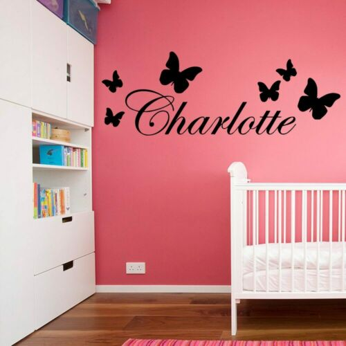 Personalized Name Nursery Wall Stickers Vinyl Art Decals For babys room