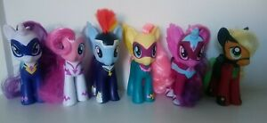 "My Pony Set di Little 6 grandi 6"" Set Completo Ponies Power SUPEREROI"