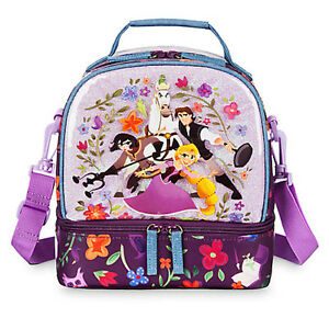 698a72b088a NWT Disney Store Rapunzel Lunch Box Tote Bag School Tangled the ...