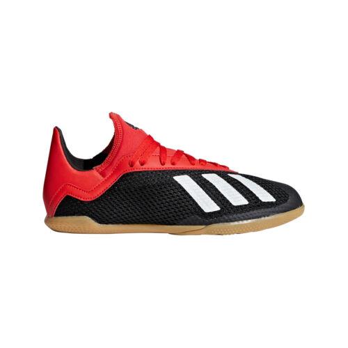 Adidas Enfants x 18.3 Salles Chaussures de foot hommes noir/blanc/rouge [bb9395]