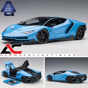 Autoart 79113 1 18 Lamborghini Centenario Blu Cepheus Pearl Blue