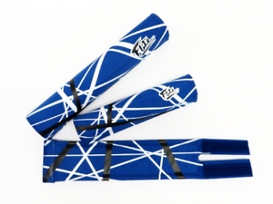 Van Halen Blues 3 Piece Flite BMX Pad Set