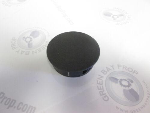 """Black 2 3//8/"""" Round Blank Boat Dash Panel Gauge Hole Filler"""