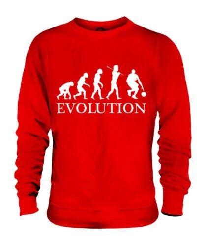 BASKETBALL EVOLUTION OF MAN UNISEX SWEATER  Herren Damenschuhe LADIES GIFT CLOTHING