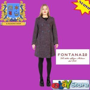 Chanel Fontana Donna 2 Righe Couture Fantasia Fashion 0 Milano Cappotto Tipo OqBTSnpwq