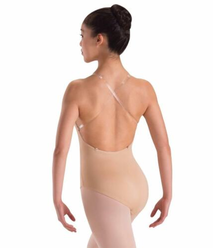 Dance Costume Competition CLEAR REPLACEMENT STRAPS for Leotards//Bras