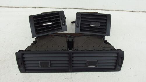 Audi a4 8e lüftungsdüsen chorros de aire negro cabina salpicadero boquillas