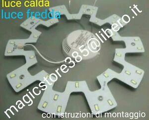 Plafoniere Con Circolina : Circolina led smd 5730 plafoniera disco neon circolare 12w