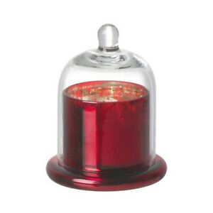 Small-Candle-Holder-With-Dome-Cover-And-Candle-by-Parlane