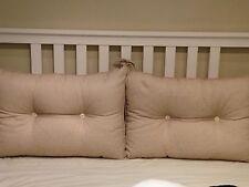 TESTIERA NUOVA cuscini imbottiti per letto matrimoniale mis.160x10xH50 cm