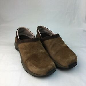 12367a00f Comfort Shoes Merrell Encore Groove Air Cushion Womens Suede Earth ...