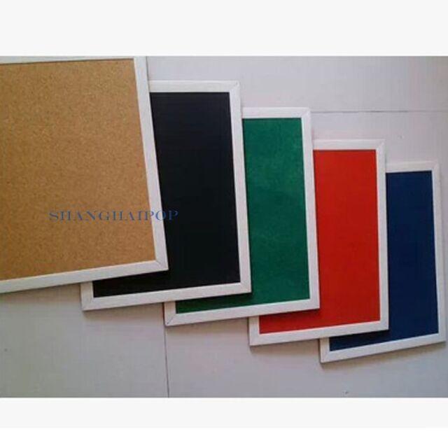 1 X Cork Pin Board Memo Notice Message Bulletin Office Home Study 30cmX40cm New