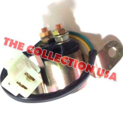 New Solenoid Starter Relay Suzuki Oem Part # 31800-15501 31800-15500 Motorcycle