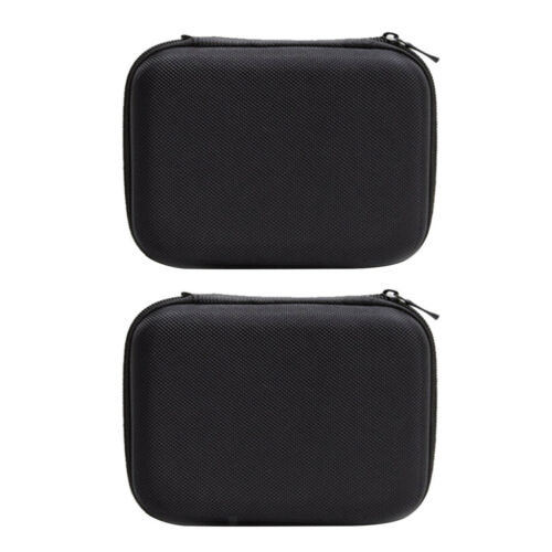 2pcs Travel Electronics Cable Organizer Bag for Hard Drives Charger Cables