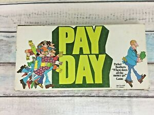 1975-PayDay-Board-Game-Vintage-Parker-Brothers-Money-Banking-Finance-Complete