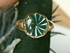 SCHMUCK-STCK Ring Gold FLUORITH Sogni D'oro Facettenreich 63 20 Zertifikat 850