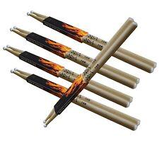 Drum-Sticks/Schlagzeug-, Trommelstöcke,5-Paar,Gr-7A-Nylon-Kopf-MSA !n