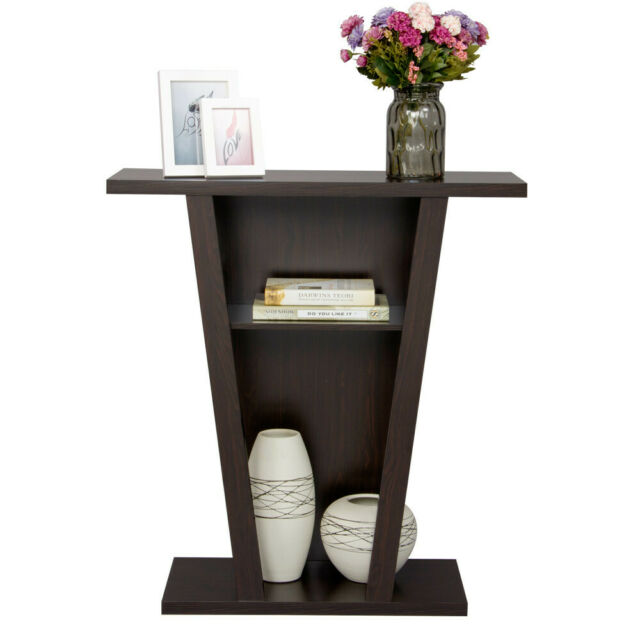 Super Hallway Table Entry Console Sofa Side End Accent Stand Modern Display Book Shelf Caraccident5 Cool Chair Designs And Ideas Caraccident5Info