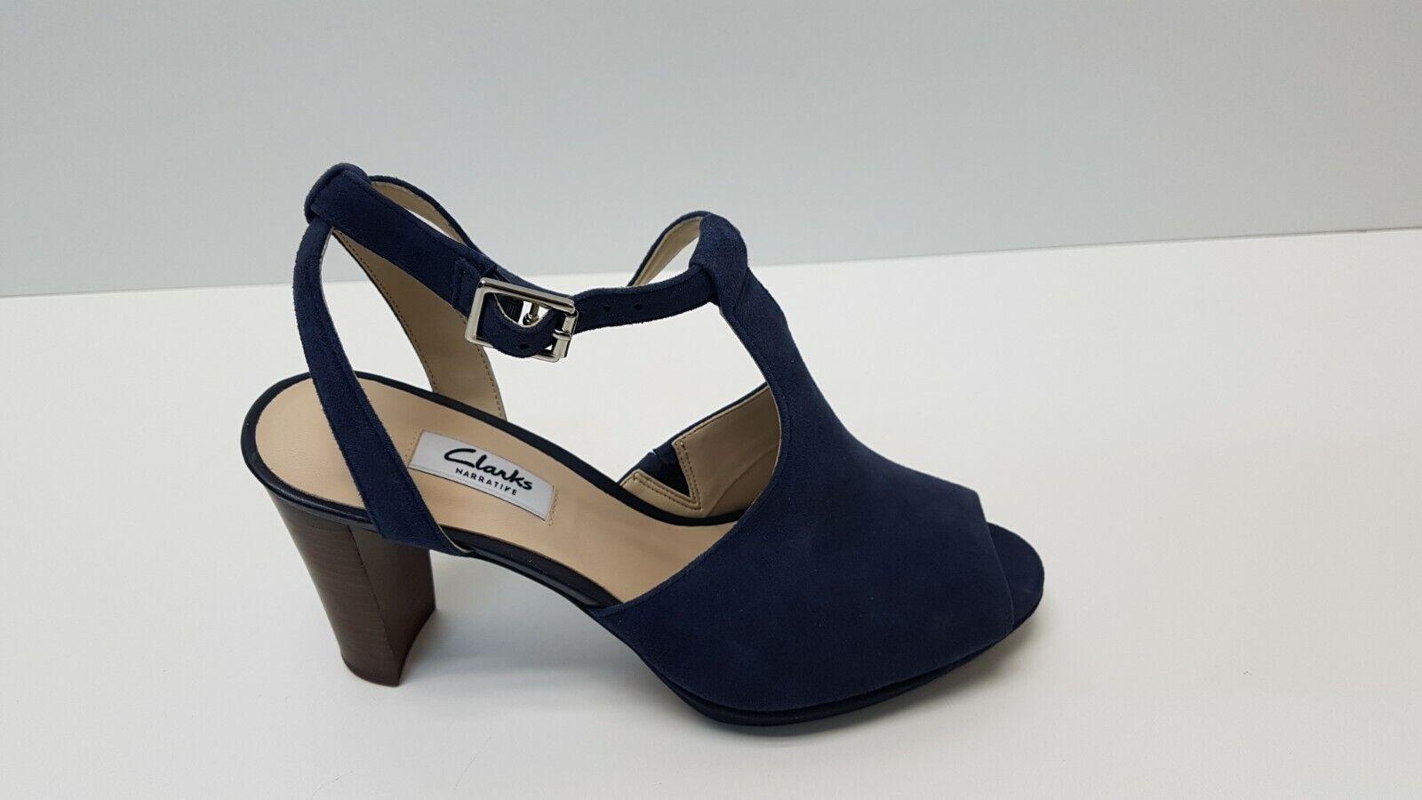 Clarks Kendra Kendra Kendra charm señora zapato pumps azul 39,5 (3042)  el estilo clásico