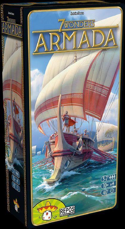 7 Wonders-Armada Extension-Jeu-repos-NEUF dans sa boîte