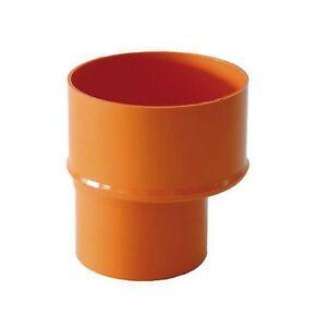 REDUCTION-CONIQUE-CONCENTRIQUES-MALE-FEMELLE-PVC-ORANGE-DIAM-100x80-mm-REDI