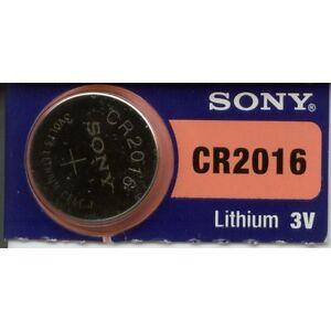 Bateria-Monton-Sony-CR2016-Litio-Nueva