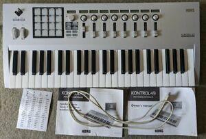 Korg-Kontrol-49-Key-USB-Studio-Midi-Keyboard-amp-Drum-Pads