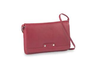 Bodenschatz-Padua-Damen-Umhaengetaschen-rot-Ledertasche-Tasche-Damentasche