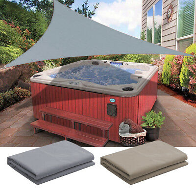 Sun Shade Sail Outdoor Top Canopy Patio Uv Wind Waterproof 11 5 16 Triangle Ebay