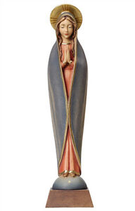 Our-Lady-of-Fatima-statue-wood-carving-modern-style