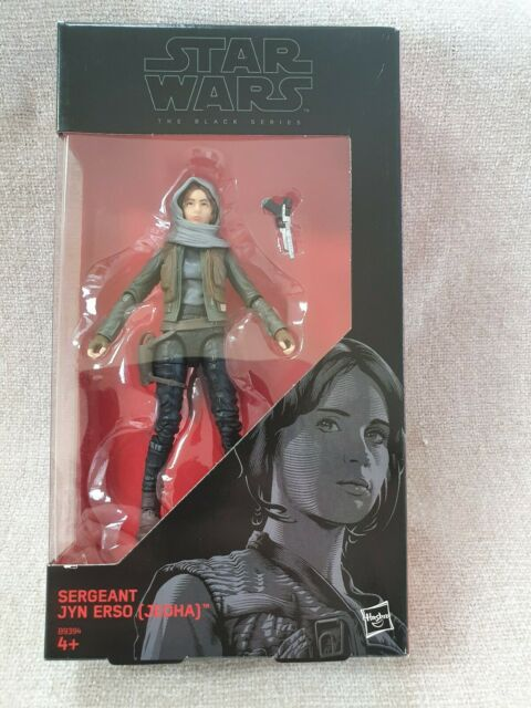 Star Wars The Black Series 6-Inch Sergeant Jyn Erso (Jedha) Figure 22Hasbro NEW