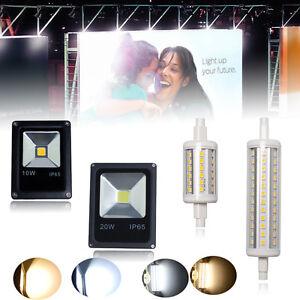 R7S-J78-J118-LED-Leuchtmittel-Halogenstab-Lampe-10W-20W-50W-Strahler-Flutlicht