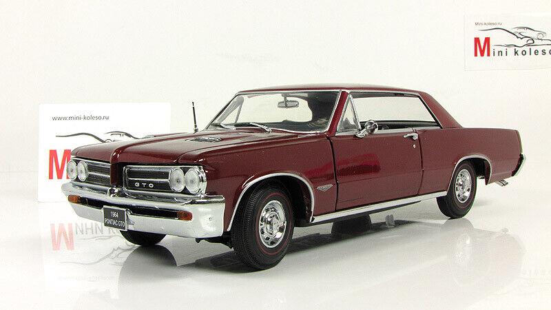 Scale model 1  18 Pontiac GTO (Marimba rouge)1964  économiser 60% de réduction