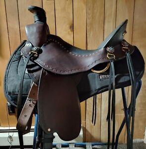 Steele Saddle: Custom Wade Style Trail Saddle