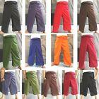 Cotton Thai Fisherman Wrap Pants Yoga Spa Massage Trousers Long Wrap Unisex