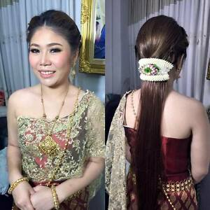 Image Is Loading WEDDING FLOWER HAIR THAI TRADITIONAL BRIDAL COSTUME DRESS