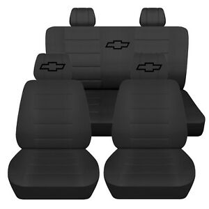Truck Seat Covers 2008 Chevrolet Colorado 40 20 40 Front