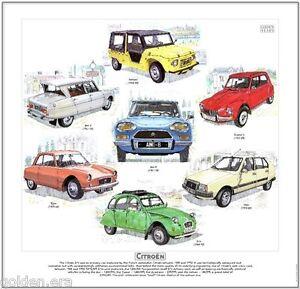 CITROEN-AMI-DYANE-MEHARI-FINE-ART-PRINT-2CV-Fourgonnette-Acadiane-French-Car