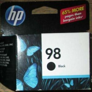 HP #98 C9364WN Black Ink Cartridge Genuine New