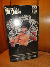 Bruce Lee: The Legend (VHS 1984 copyright) Documentary 88 mins.