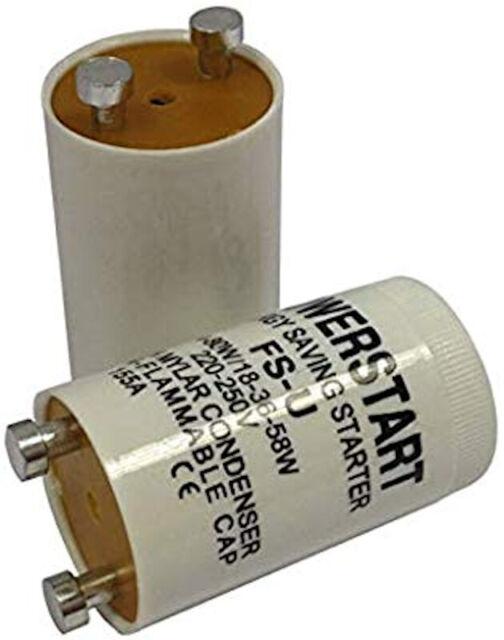 2 x 4-80w Fluorescent Tube/Light Starter Switch FS-U 4 watt - 80 watt FSU