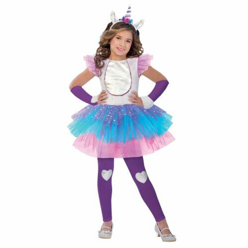 Le ragazze unicorno magico Costume Bambini Scuola PRENOTARE ABITO OUTFIT STORIA