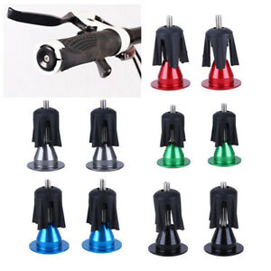 Alloy-Cycling-Parts-Bicycle-Grips-End-Lock-On-Handle-Plugs-Bike-Handlebar-Cap