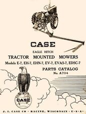 Case Eagle E 7 Eh 7 Ehn 7 Ev 7 Evas 7 Edsc 7 Mower Parts Manual Vac Vah Va Sc Dc