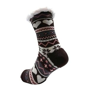 LADIES WARM THERMAL INSULATED THICK WINTER SOCKS 4.7 TOG UK 6-11 399D RED HEEL
