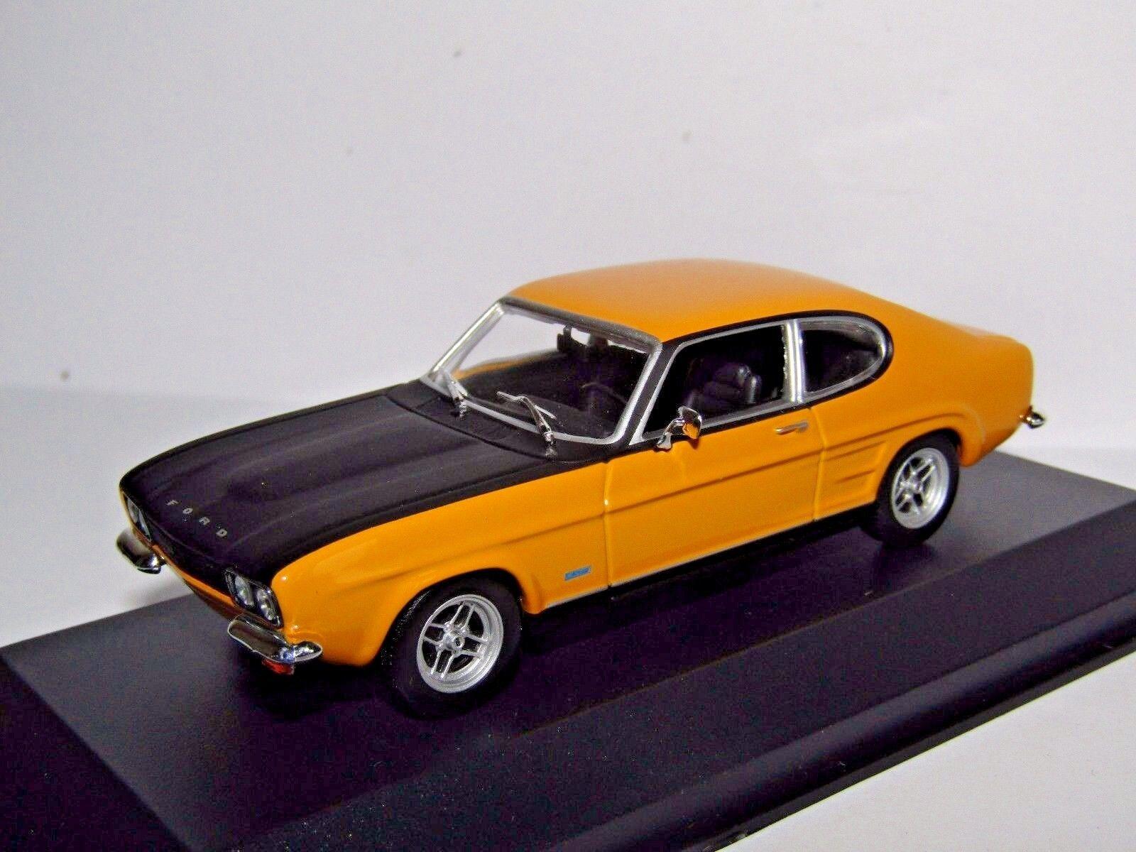 MAXICHAMPS FORD CAPRI RS 1969 YELLOW 1 43